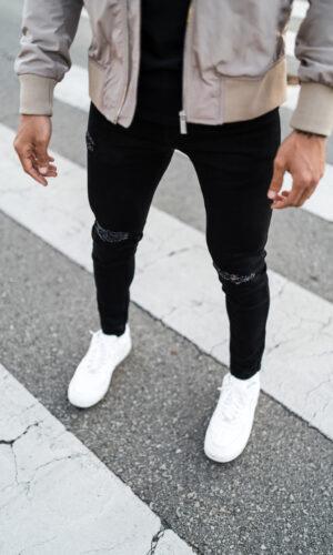 Jeans Black Root