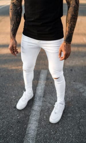 Jeans White Root