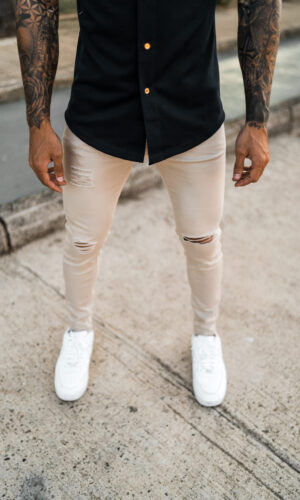 Jeans Light Beige Root