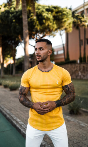 T-shirt Fest Yellow
