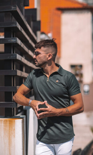 Polo-Shirt Hexa GreenGold