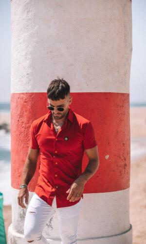 Urban-Shirt Hexa RedGold