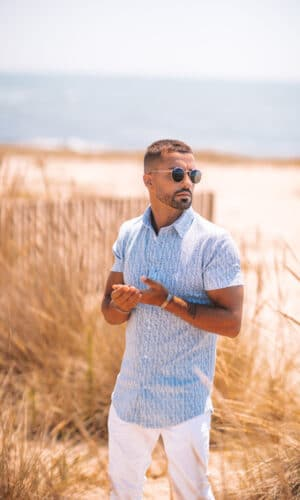 Urban-Shirt Blue/White Stripes