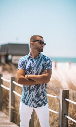 Urban-Shirt Blue Waves