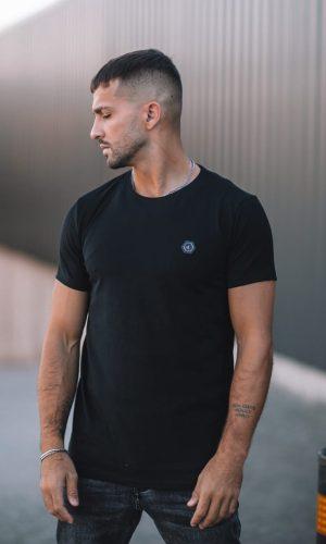 T-shirt Hexa Black