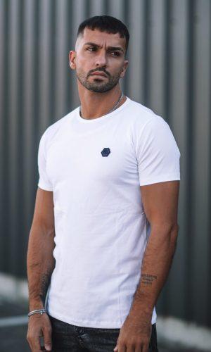 T-shirt Hexa White