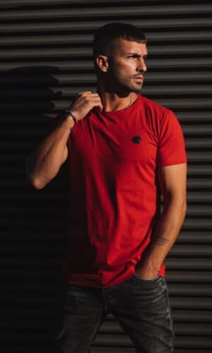 T-shirt Hexa Red