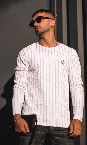 Long Sleeve Verona White